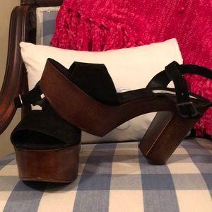 Steven Madden Chunky heels